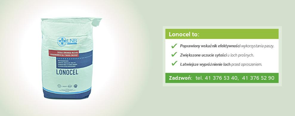 włókno surowe lonocel banner