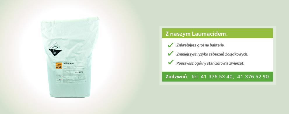 zakwaszacz paszowy laumacid
