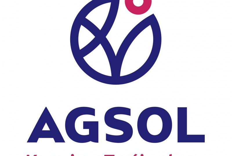 agsol logo pionowe claim